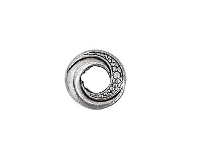 Pewter Serpentine Ring 15mm
