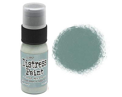 Tim Holtz Iced Spruce Distress Paint Dabber 29ml