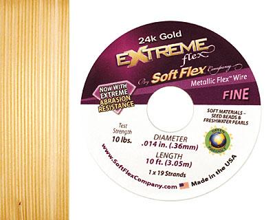 Soft Flex Extreme 24K Gold .014