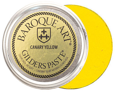 Canary Yellow Baroque Art Gilders Paste 100ml