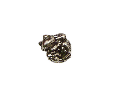 Green Girl Pewter Baby Toady 13x12mm