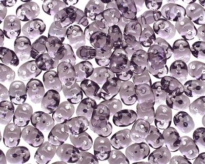 Light Tanzanite SuperDuo 2x5mm Seed Bead