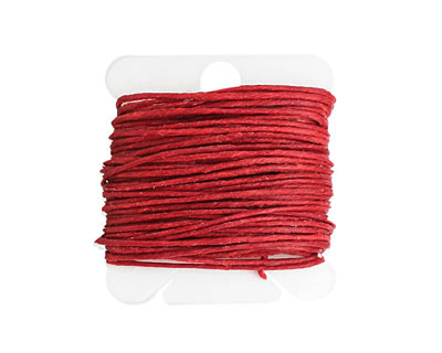 Country Red Irish Waxed Linen 7 ply