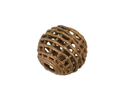 African Brass Basket Round 18-20mm