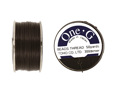 TOHO One-G Black Thread