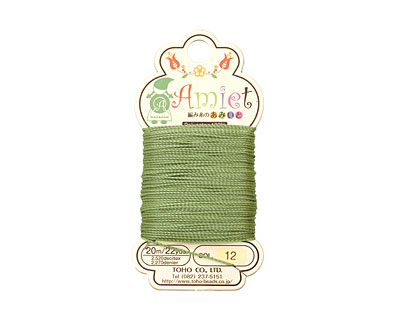 Olive Amiet Thread 22 yards