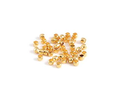 Gold (plated) Crimp Tube 2x1.5mm