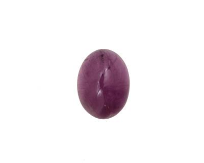 Amethyst (A) Oval Cabochon 12x15mm
