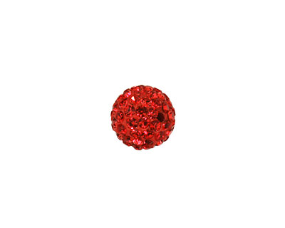 Siam Ruby Pave Round 10mm