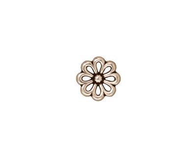 TierraCast Antique Silver (plated) Open Daisy Link 10mm