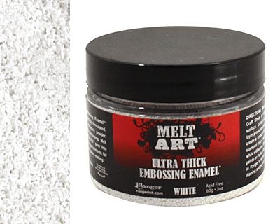 Melt Art White Ultra Thick Embossing Enamel 3 oz.