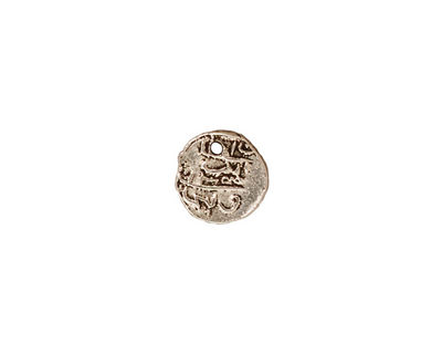 TierraCast Antique Silver (plated) Maldive Larin Charm 9mm