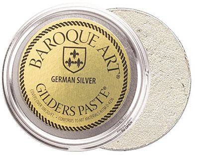 German Silver Baroque Art Gilders Paste 100ml