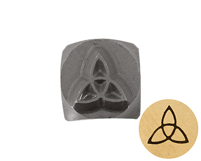 Celtic Knot Metal Stamp 5mm