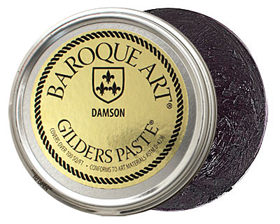 Damson Baroque Art Gilders Paste 100ml