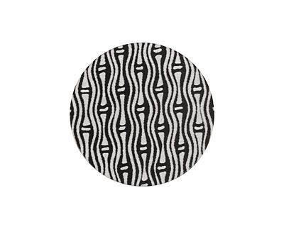 Lillypilly Black Reeds Anodized Aluminum Disc 25mm, 22 gauge
