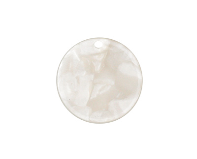 Zola Elements Pearl Acetate Coin Charm 20mm