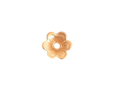Nunn Design Brass Domed Flower Embellishment 3x12mm