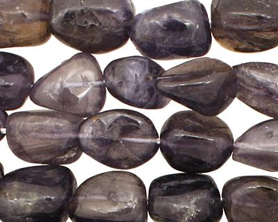 Iolite Tumbled Nugget 11-14x9-10mm