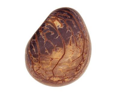 Tagua Nut Violet Nugget 40-45x32-36mm