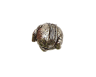 Green Girl Pewter Armadillo 15x12mm