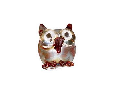 Unicorne Beads Pee Wee Mini Owl 15mm