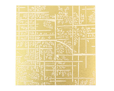 Lillypilly Gold Bamboo Anodized Aluminum Sheet 3