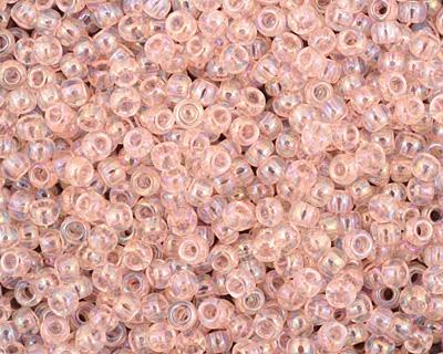 TOHO Dyed Rainbow Ballerina Pink Round 8/0 Seed Bead