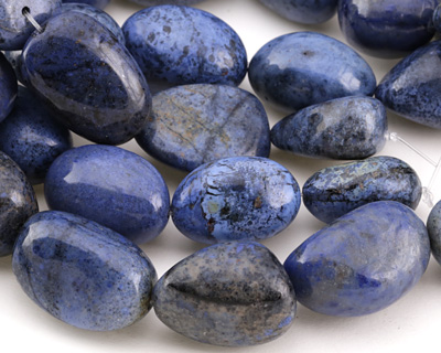 Dumortierite Large Tumbled Nugget 32-42x23-30mm