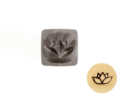 Lotus Metal Stamp 5mm