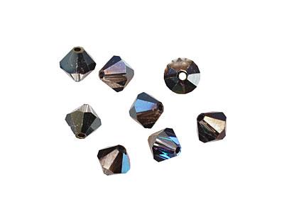 Swarovski Crystal Heliotrope Faceted Bicone 6mm (5301)