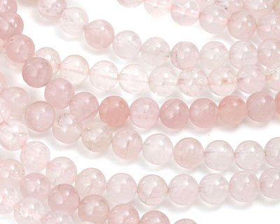 Rose Quartz (A) Round 8mm