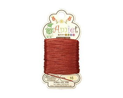 Mahogany Amiet Thread 22 yards