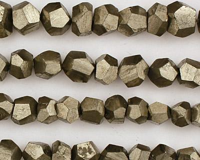 Golden Pyrite Rough Nuggets 6-8x