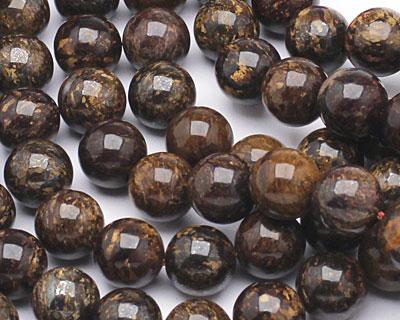 Bronzite Round 10mm