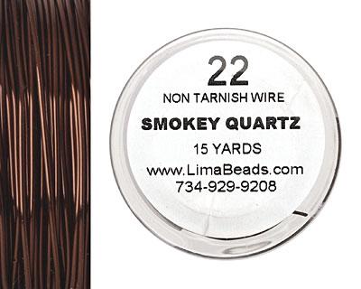Parawire Smoky Quartz 22 gauge, 15 yards