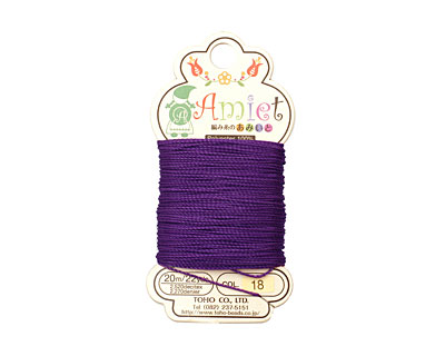 Royal Purple Amiet Thread 22 yards