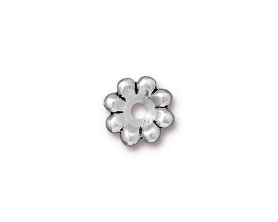 TierraCast Antique Silver (plated) Flower Rivetable 11mm