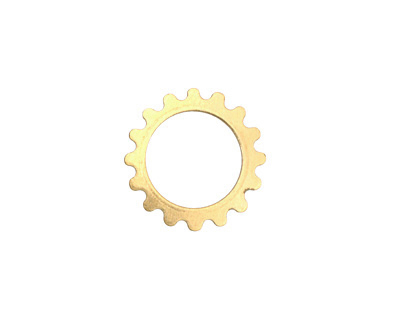 Brass Small Open Gear 16mm