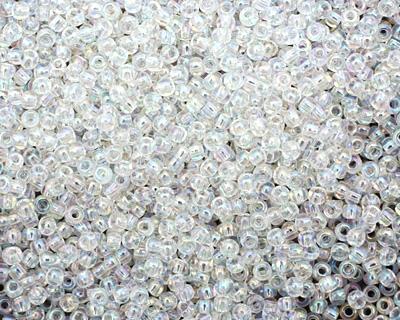TOHO Transparent Rainbow Crystal Round 11/0 Seed Bead