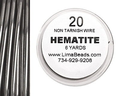 Parawire Hematite 20 gauge, 6 yards