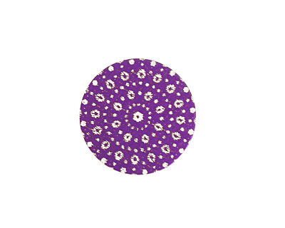 Lillypilly Purple Crochet Anodized Aluminum Disc 19mm, 24 gauge