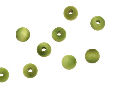 Tagua Nut Apple Round 6mm