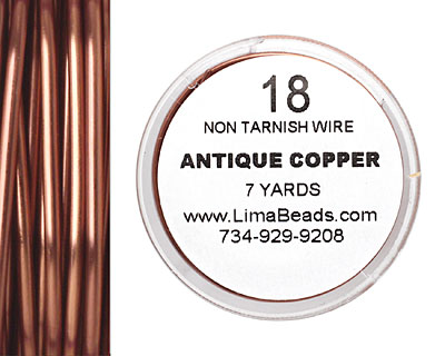 Parawire Antique Copper 18 gauge, 7 yards