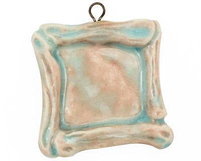 Gaea Ceramic Desert Sky Square Bezel 25mm