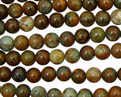 African Green Opal Round 6mm