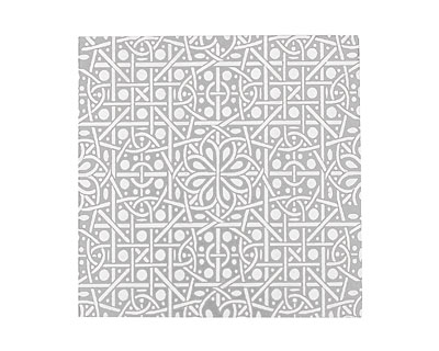 Lillypilly Silver Cross Stitch Anodized Aluminum Sheet 3