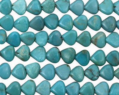Chinese Turquoise Triangle 6mm