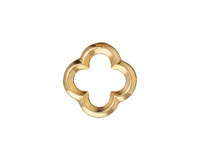 TierraCast Gold (plated) Medium Quatrefoil Link 16mm