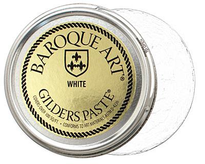White Baroque Art Gilders Paste 100ml